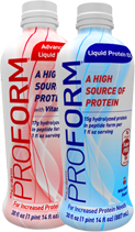 Proform Liquid Protein Ready to Drink Formula Bottles
